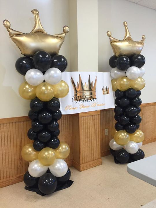 17 best images about balloons decor on pinterest rainbow for Balloon column decoration