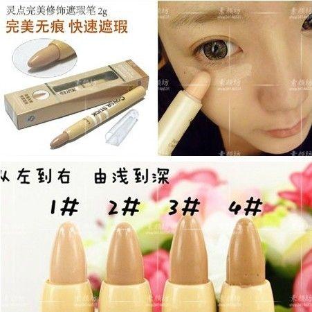 Caneta pele impecável Concealer vara maquiagem capa de Acne local marcas tampa perfeita umidade de 2.5 G alishoppbrasil