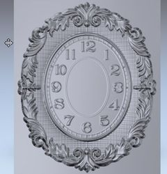 Online Shop 3d model relief Clock_66 for cnc in STL file format |Aliexpress Mobile