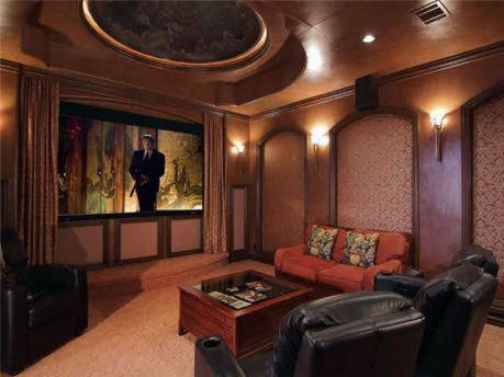 Inspirational Media Rooms In Basement