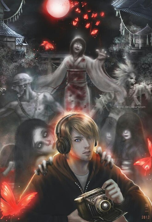 I wish PewDie had finished Fatal Frame II: Crimson Butterfly...