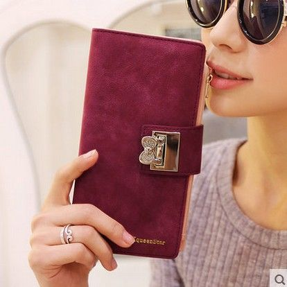 Frosted Diamond Long Wallet //Price: $18.56 & FREE Shipping // #bags #lady