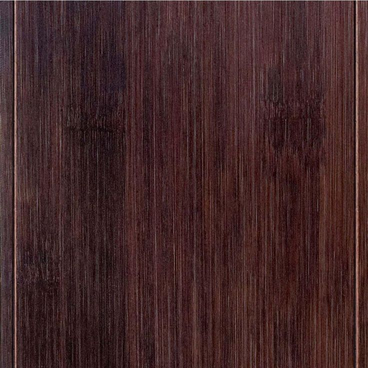 Hand Scraped Horizontal Walnut (Brown) 9/16 in.T x 4-3/4 in.W x 47-1/4 in.Length Engineered Bamboo Flooring (24.94 sq. ft./case)