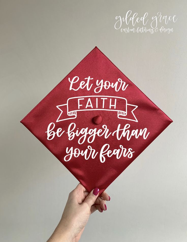 Let your faith be greater than your fears