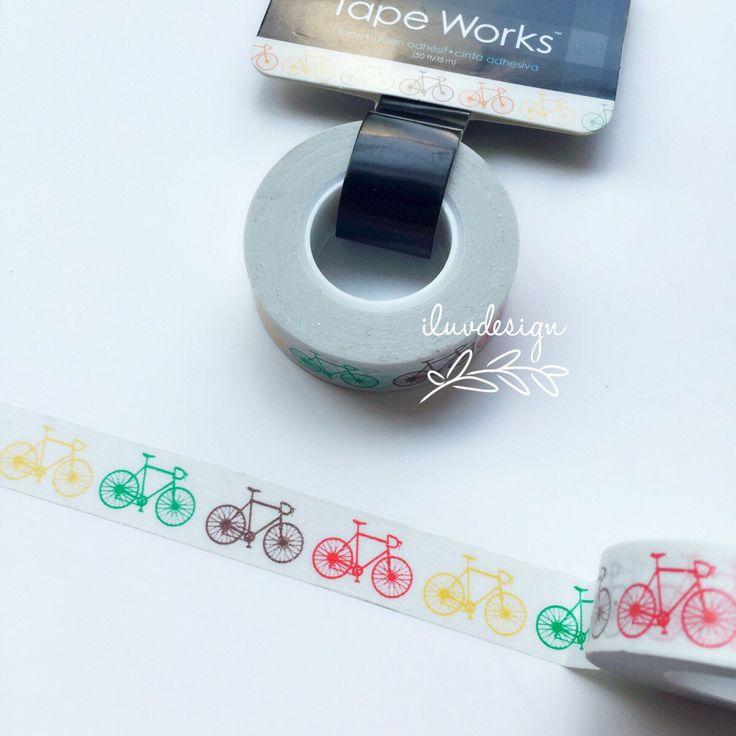 Fietsen Washi Tape • fiets decoratieve Tape • Craft levering DIY • versiering • Card Making • versieren • papier knutselen (SC9708) door iluvdesign op Etsy https://www.etsy.com/nl/listing/235874559/fietsen-washi-tape-fiets-decoratieve