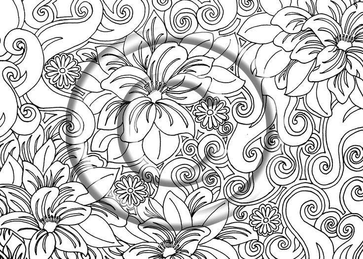 51 best Zentangle coloring pages images on Pinterest Mandalas