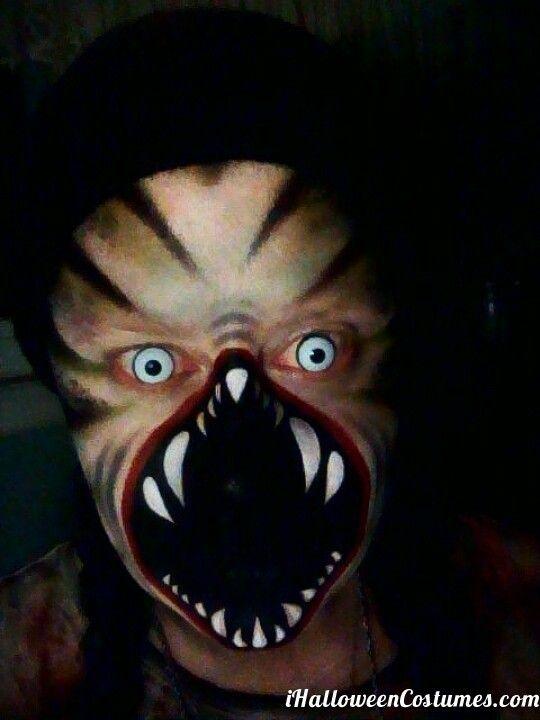 ugly creepy Halloween makeup - Halloween Costumes 2013