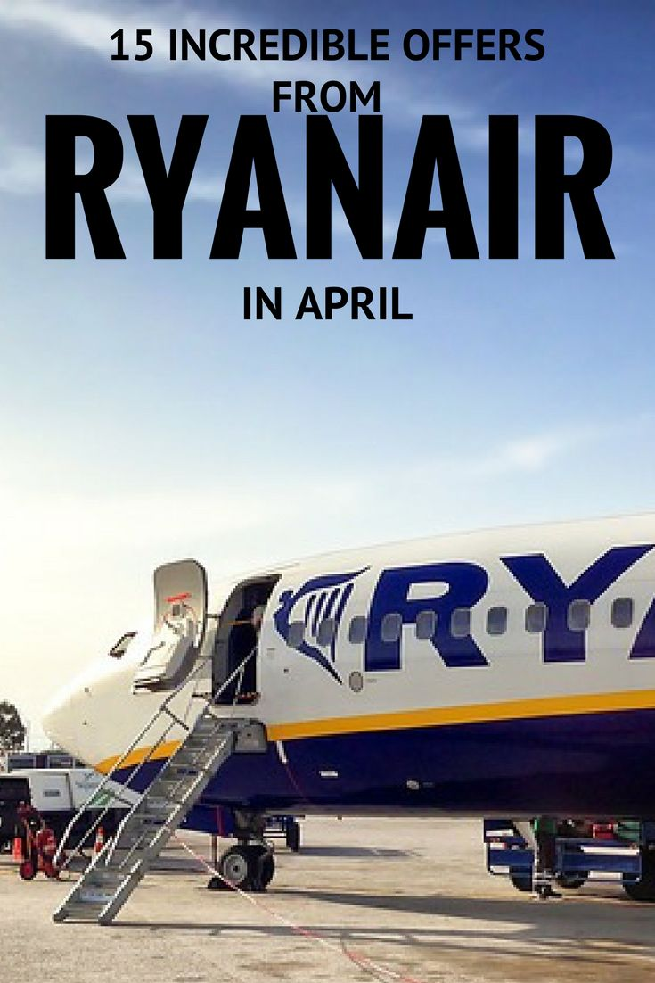 SLIDESHOW: 15 Incredible Deals from Ryanair For Under £15