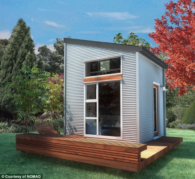 a (small) place to call home... 10ft by 10ft 'micro-home' that can be shipped anywhere in the world... (nomad)