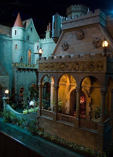 Exterior - The Fantasy Forest: Colleen Moore's Fairy Castle ~ Horace Jackson