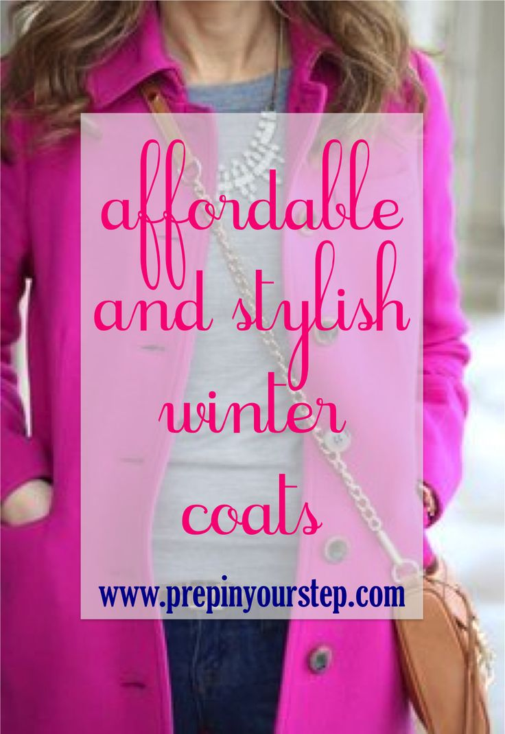 Affordable and Stylish Winter Coats