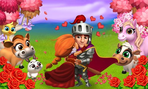 Love is in the air! Invite your crush to play Royal Story together!  #royalstorygame #royalvalentines