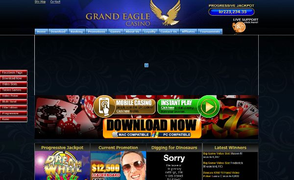 Also find Progressive jackpots from $1000 to over $100000 - Grand Eagle Casino >> jackpotcity.co/r/99.aspx