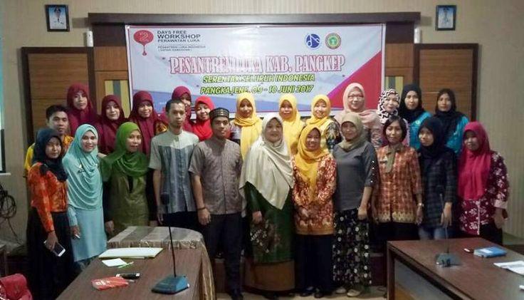 PPNI Gelar Workshop 'Pesantren Luka Indonesia' di Pangkep