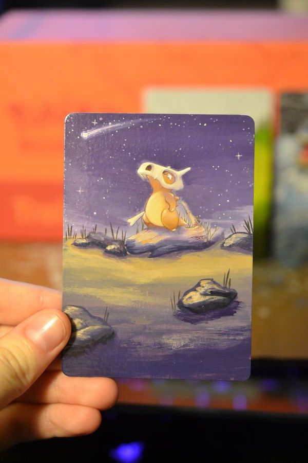 Artist Transforms Old Pokemon Cards Into Mini Masterpieces