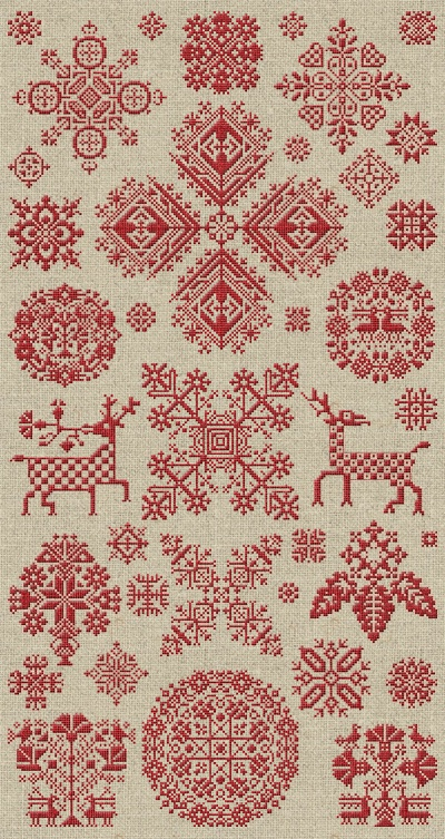 Through The Bitter Frost & Snow - 37 Christmas Ornaments - PDF Booklet