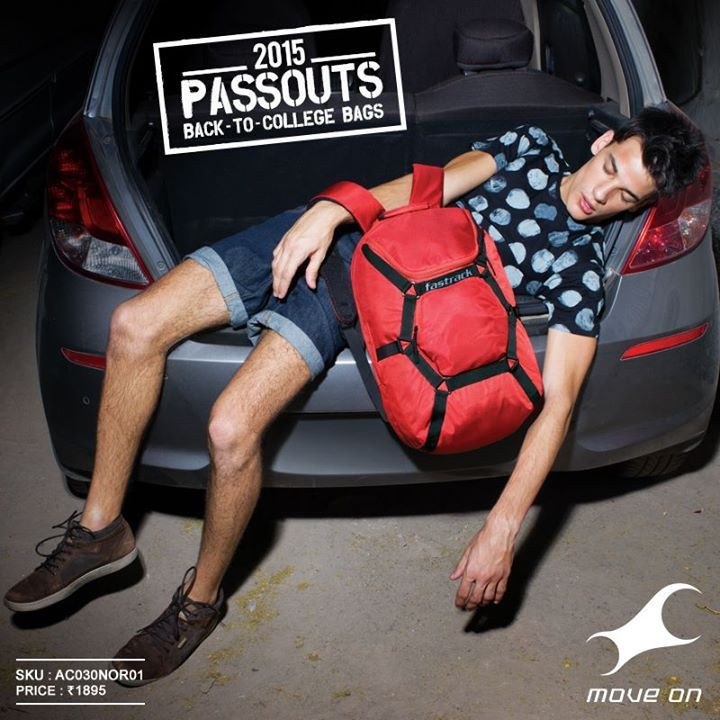 Pull an all nighter, only if you have a #Passouts campus bag. www.fastrack.in/passouts