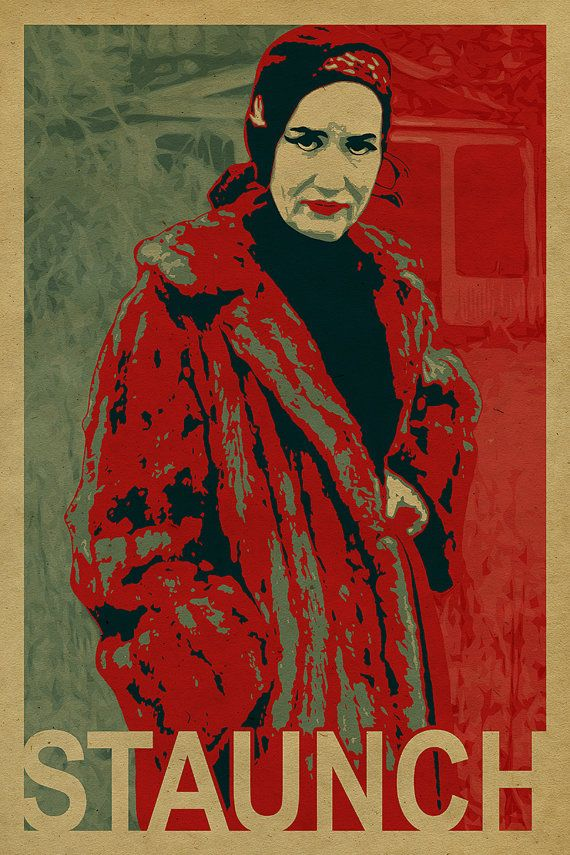 Staunch Character | Little Edie is a STAUNCH character! Grey Gardens poster. Kraft paper ...