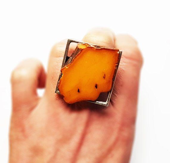 Baltic Amber Ring 16g.