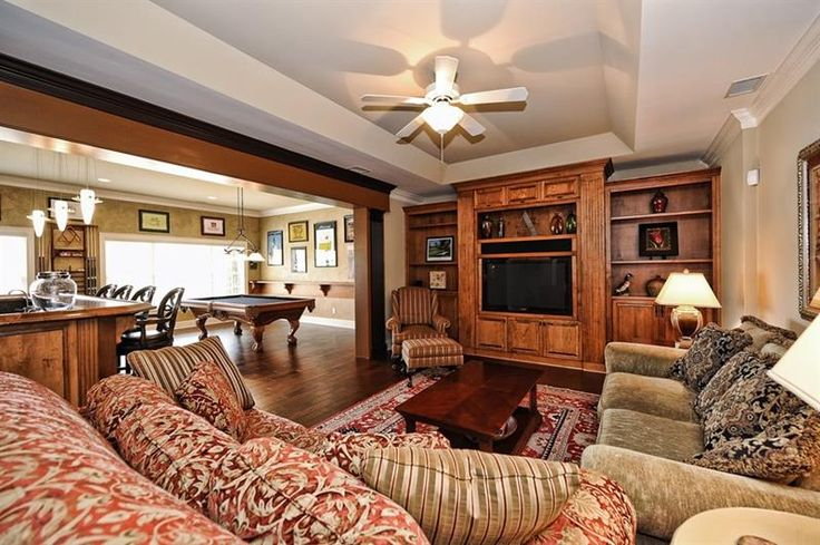 17 best images about home remodeling on pinterest for Beautiful basements pictures