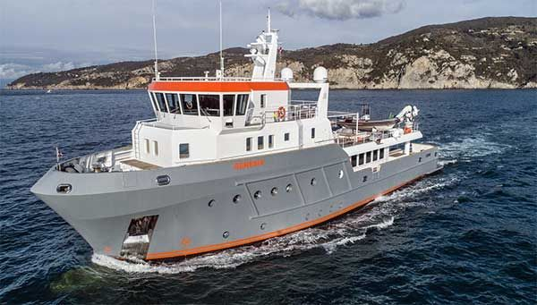 Superyacht Award Rebuilt Ocean King Genesia Expedition Yachts Ocean Fishing Boats Yacht