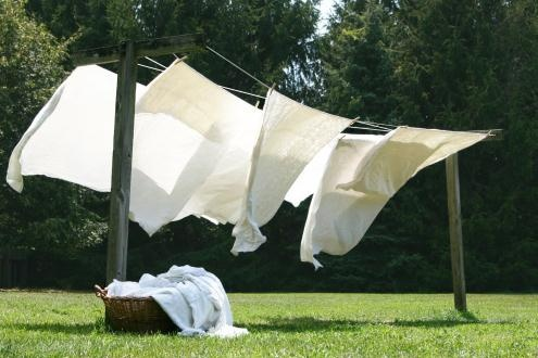 <3 the smell of sundried sheets
