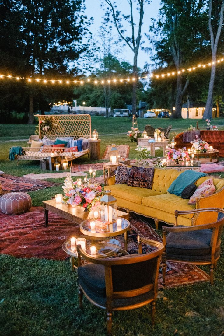 15 Some of the Coolest Tricks of How to Build Backyard Engagement Party Ideas