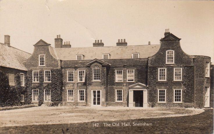 SNETTISHAM OLD HALL, COUNTRY HOUSE, SNETTISHAM, NORFOLK. RP, 1927. | eBay