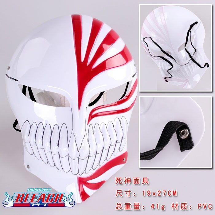 20 шт. / lot отбеливатель Kurosaki ичиго косплей маска маскарад хэллоуин карнавальные маски для вечеринки 2 цвета ANMS006
