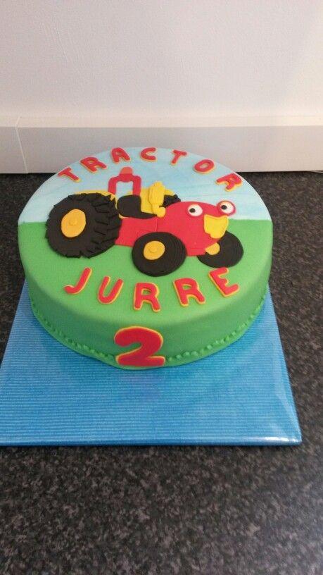 Tractor Tom taart