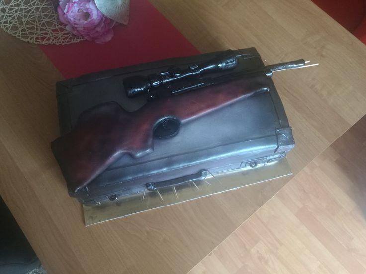 Air gun cake