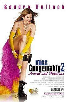 Miss Congeniality 2: Armed and Fabulous (also known as Miss Congeniality 2 or Miss Congeniality: Armed and Fabulous) is a 2005 comedy film directed by John Pasquin, starring Sandra Bullock. It is a sequel to the 2000 film Miss Congeniality.