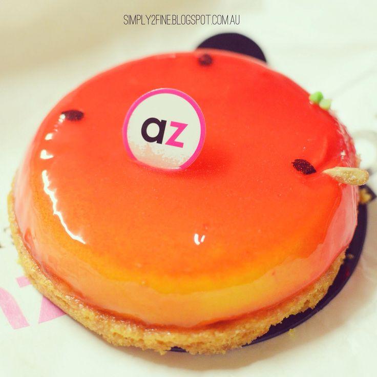 Tart Aux Fruit De La Passion @adrianozumbo