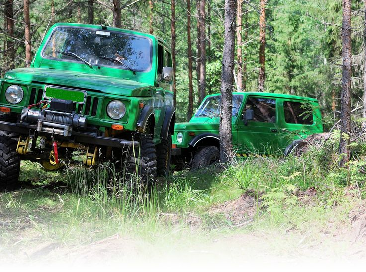 Go offroad!