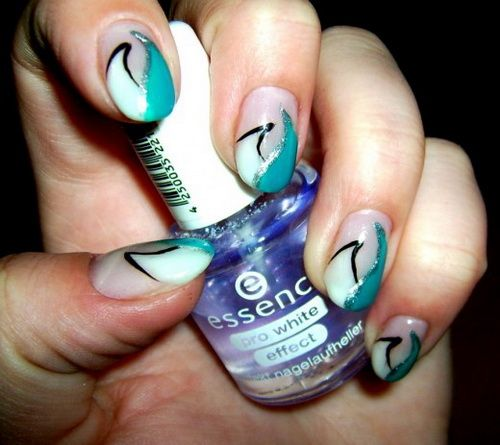 48 best Cool Nails images on Pinterest   Make up, Enamels and ...
