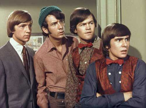 Hey, hey, we're the Monkees! Lived for this show in the 1960's.