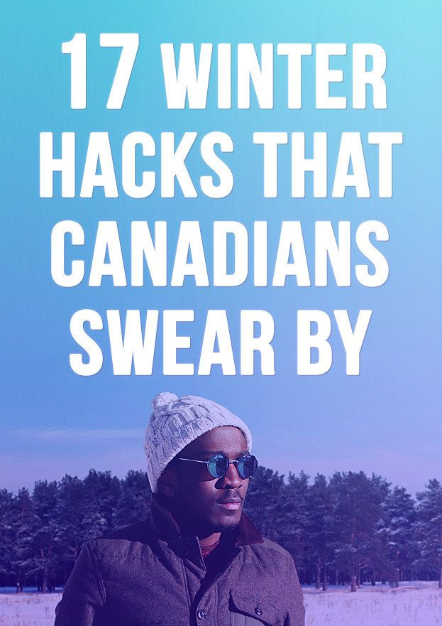 Here are 17 of the most impressive winter hacks from your fellow Canadians: | 17 Winter Hacks That Canadians Swear By