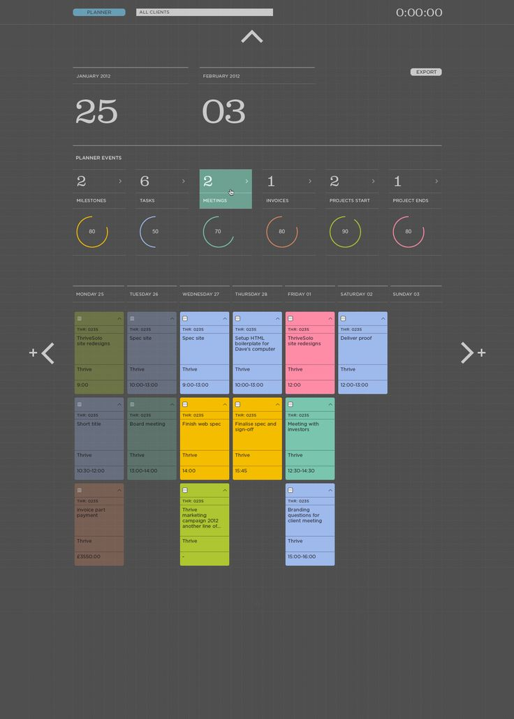 Solo 2.0 data display concept by Jerome Iveson