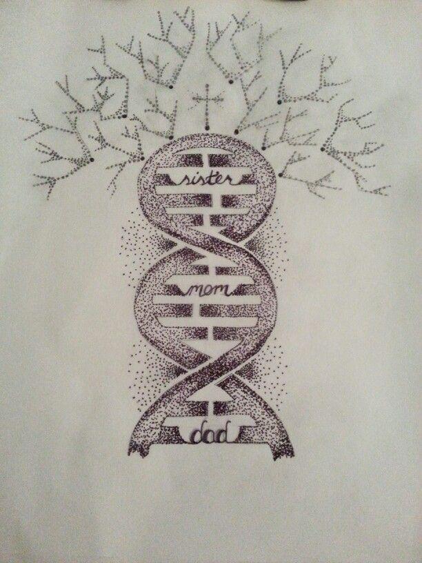 family Tree DNA Tattoo Pinterest Dna