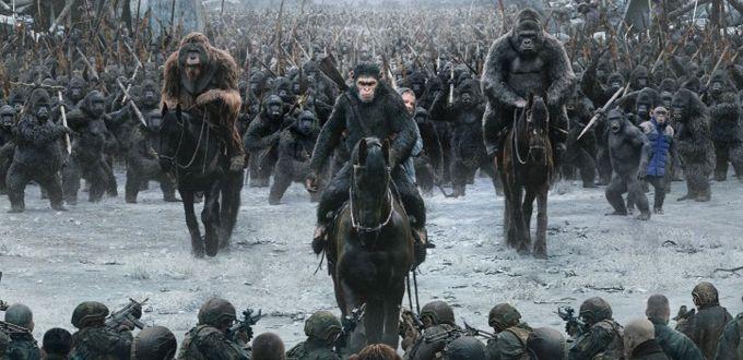 """Nuevo clip del próximo estreno de """"La guerra del Planeta de los Simios"""" fue revelado"""