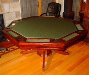 How to Build an Octagon Poker Table – The Octagon Ring  http://www.simplediyr.com/build-octagon-poker-table-part1/