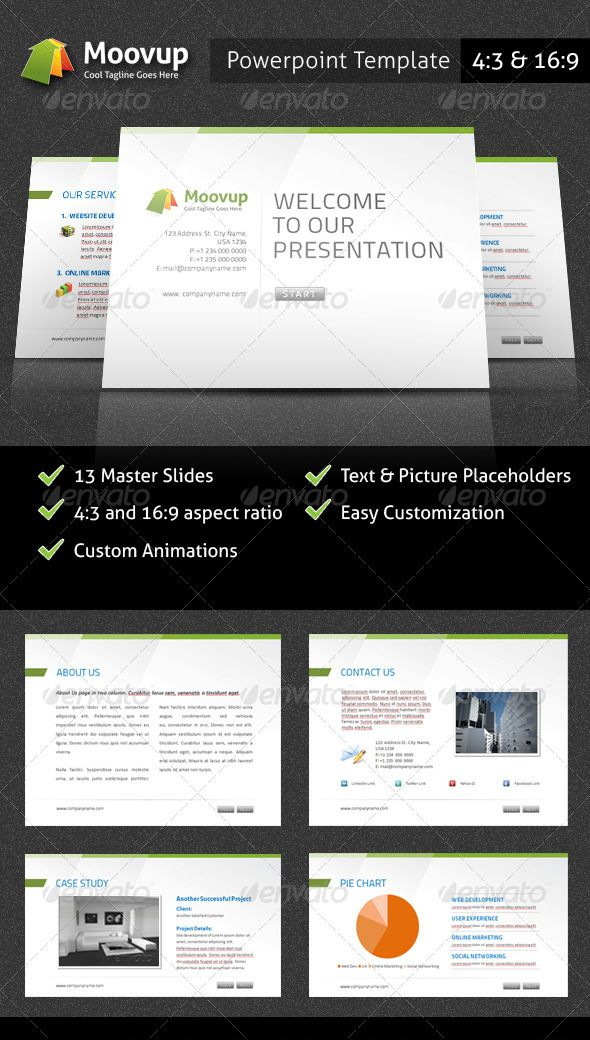 Powerpoint Presentation Template - Moovup