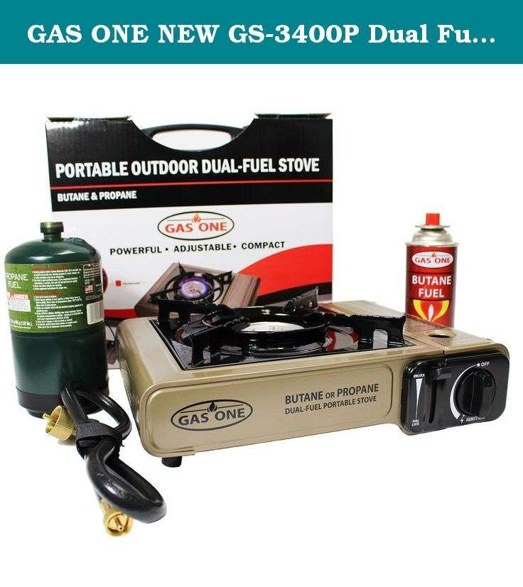 GAS ONE NEW GS-3400P Dual Fuel Portable Propane & Butane Camping and Backpacking Gas Stove Burner with Carrying Case (GOLD). Price Zone dba J&S International is a company that specializes in camping and outdoor recreation products under our brand, Gas One. We are a leading manufacturer of portable outdoor cookers, burners, and other general kitchenware products. With UL and CSA certification, we provide high quality and safe products at competitive prices for the U.S. market. We, at Price...