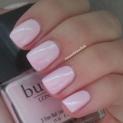 "Butter London ""Teddy Girl"". Love the color!"