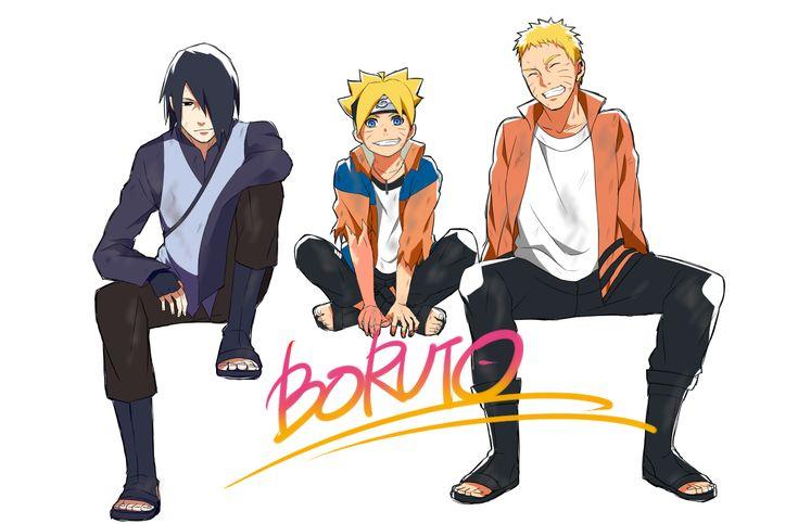 Tags: Fanart, NARUTO, Uzumaki Naruto, Uchiha Sasuke, Pixiv, PNG Conversion, Fanart From Pixiv, Yomi178, Uzumaki Boruto, Boruto: Naruto the Movie