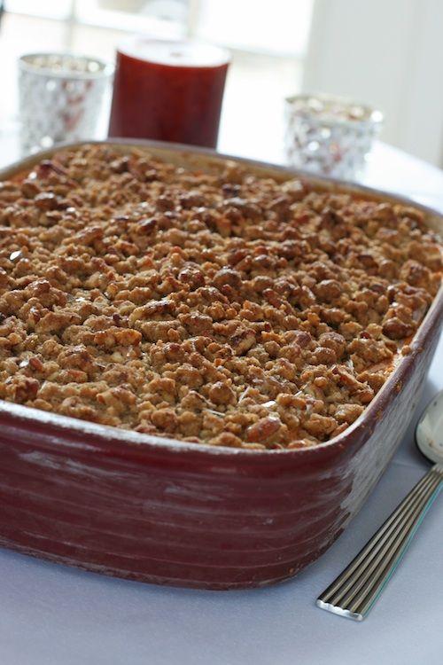 Classic Sweet Potato Casserole: Lightened Up Thanksgiving Side Dish