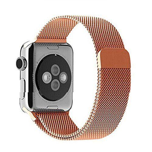 Aviato Apple Watch 38 mm Magnetic Milanaise Armband - Roségold - http://on-line-kaufen.de/aviato/aviato-apple-watch-38-mm-magnetic-milanaise-6