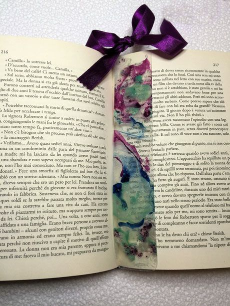 Voglio il mondo a colori - Segnalibro variegato