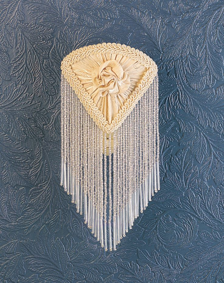 5.5 Inch W X 10 Inch H Fabric & Fringe Ivory Pontiff Night Light - 5.5 Inch W X 10 Inch H Fabric & Fringe Ivory Pontiff Night LightSoft Ivory floral patterned fabric, edged in longstrands of real glass beads is knotted across agracefully curving form. This Victorian inspired nightlight adds a touch of elegance to your darkest night. Theme: VICTORIAN FABRIC Product Family: Fabric & Fringe Ivory Pontiff Product Type: NOVELTY LAMPS AND ACCESSORIES Product Application: LAMPS Color: IVORY/IVORY…