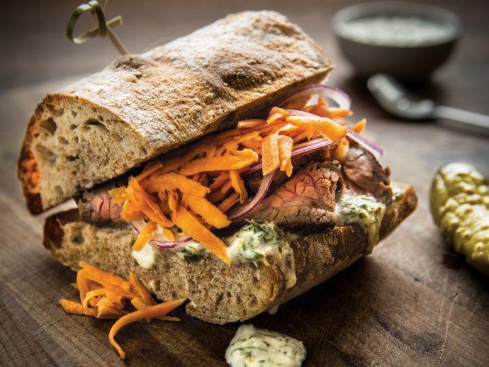 always be steak sandwiches sandwich ideas meat lovers chimichurri ham ...